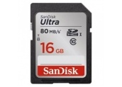 SANDISK SD HC Ultra 16 GB 80 MB/s CL10