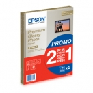Bonnes affaires : EPSON PAPIER PHOTO GLACE A4 15F 255G 1+1