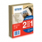 Bonnes affaires : EPSON PAPIER PHOTO PREMIUM GLACE 10X15 40F 255G 1+1