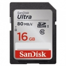 Bonnes affaires : SANDISK SD ULTRA 16GB 80 MO/S CL10