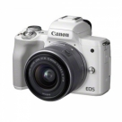 Bonnes affaires : CANON EOS M50 Blanc + 15-45 mm f/3.5-6.3 IS STM