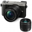 Bonnes affaires : PANASONIC LUMIX DC-GX9 Silver + 12-60 mm f/3,5-5,6 + 25 mm f/1,7