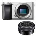 Bonnes affaires : SONY ALPHA 6100 Silver + SEL 16-50 mm f/3,5-5,6 OSS