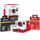 Bonnes affaires : POLAROID ONE STEP 2 VIEWFINDER Rouge + 1 Film Festive red + 1 Film Gold dust