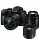 Bonnes affaires : PANASONIC LUMIX DMC-G80 + 12-60 mm f/3.5-5.6 Power OIS + 45-200 mm f/4.0-5.6 Power OIS + 25 mm f/1.7