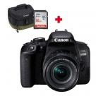 Bonnes affaires : CANON EOS 800D + 18-55 f/4.0-5.6 IS STM + carte SD 16Go + sac Photo Canon 100EG