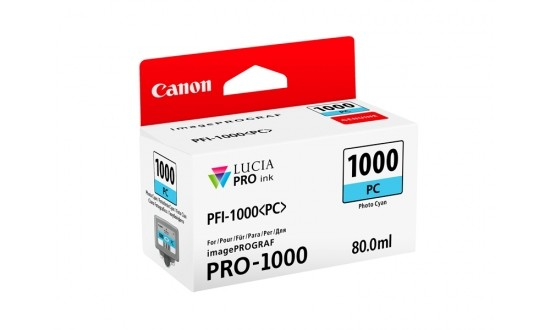 CANON PFI-1000PC encre CYAN PHOTO