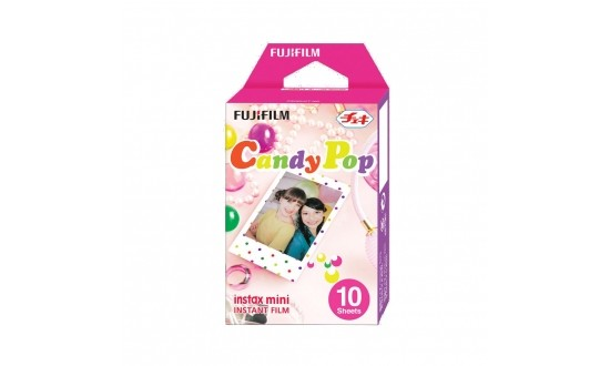 FUJIFILM Film Instax Mini Candy Pop 10 Poses