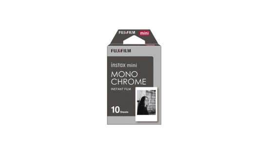 FUJIFILM Film Instax Mini Monochrome 10 Poses
