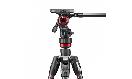 MANFROTTO BEFREE LIVE CARBONE TWIST LOCK ROTULE FLUIDE