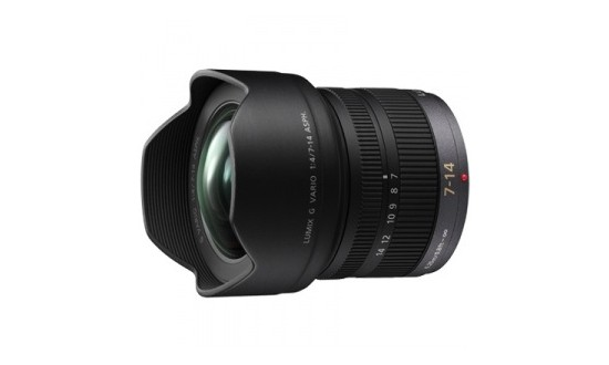 PANASONIC LUMIX 7-14 mm f/4 Asph. Lumix G Noir